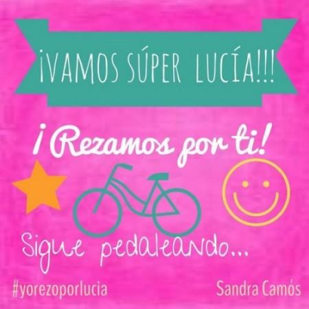 Famosos y gente anónima se unen a la campaña de oraciones #yorezoporlucia