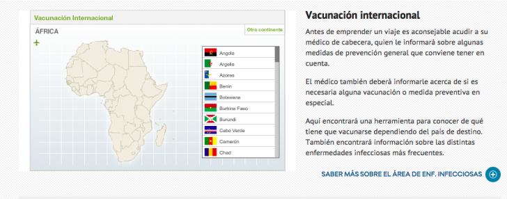 Vacunación internacional: una guía personalizada