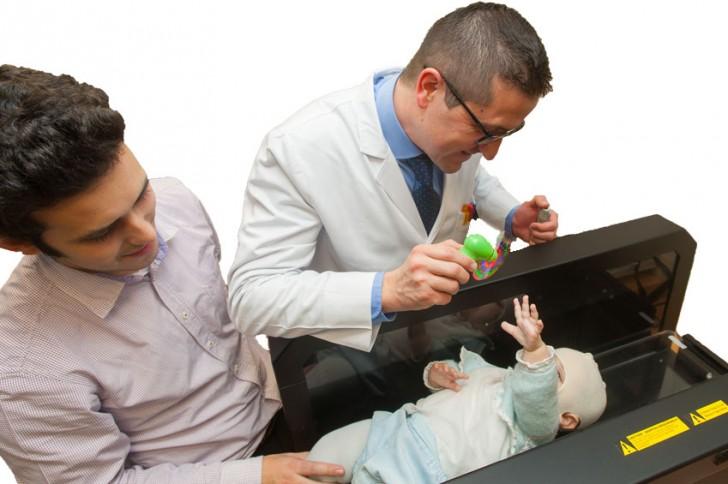 Nuevo procedimiento para diagnosticar malformaciones craneales en bebés