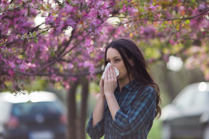 Alergia al polen en la ciudad